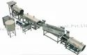 Fully Automatic Pellet Frying Line With Diesel Heat Exchanger