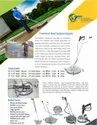 Floor Cleaning Rotating Surface Cleaner  Attachments
