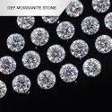 White Moissanite Diamond