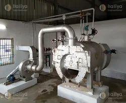Oil & Gas Fired 640 kg/hr Steam Boiler, IBR Approved
