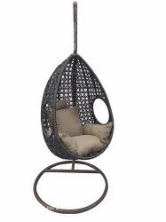 GC-142 Hanging Swing Single Seater With Stand