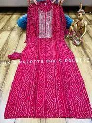 Heavy 14kg Rayon Malti Color Women Formal Kurti