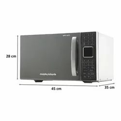 Morphy Richards 25 Litres Convection Microwave Oven (200 Auto Cook Options, 25 CG, Silver)