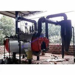 Wood & Coal Fired 500 Kg/Hr Steam Boiler, IBR Approved