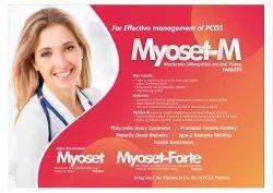 Myoset- Myo-Inositol 1gm Methyllfolate 1mg  Vitamin D3 1000 I.U