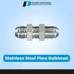 Stainless Steel Flare Bulkhead