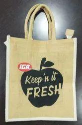 Jute Fancy Hand Bag
