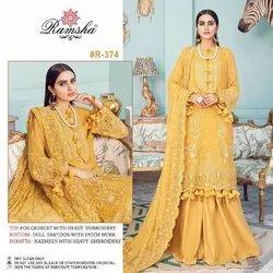 Georgette Ladies Pakistani Salwar Suit