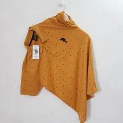 Half Sleeve 10 COLOR Mens Collar Printed T Shirts, Size: L XL XXL