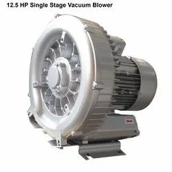 Aluminum 3 Phase 12.5 HP Single Stage Vacuum Blower, For Industrial