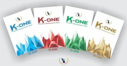 White Kauntam Paper, Packaging Size: 500 Sheets per pack, Roughness: Soft
