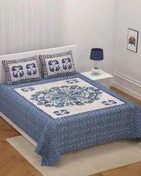 Barmeri Print King Size Bedsheet