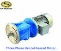 Three Phase Geared Motor
