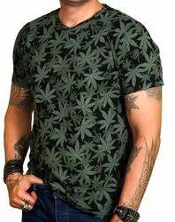 Da Swag Cotton T Shirt, Age Group: 14-50