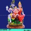 Marble Shiv Parivar antic