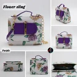 Modern 5 Colours Ladies Stylish Leather Handbag, Size: 399
