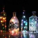 Cork Light Bottles