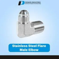 Stainless Steel Flare Male Elbow