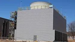 OSE Fiberglass Reinforced Polyester FRP Cooling Towers, Induced Draft, Cooling Capacity: 1000 Tr