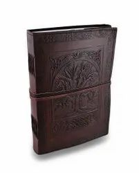 Select From Hundreds Of Designs - Leather Diary, Leather Journal, Blank Leather Book