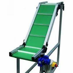 Incline Flat Belt Conveyor