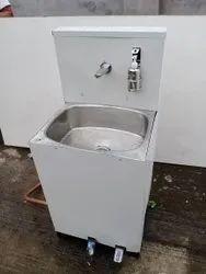 Diya Pedestal Foot Operated Wash Basin