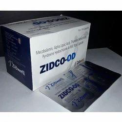 Pyridoxine Hydrochloride & Folic Acid Capsules