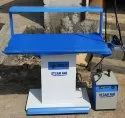 Vacuum Ironing Table with Portable Boiler