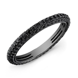 Gemone Diamonds Full Black Diamond Bangle