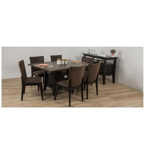 Durian Quincy 6 Seater Wooden Dining Table Rs 90350