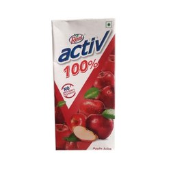 Red Real Active Apple Juice, Packaging Type: Tetra Pak, Packaging Size: 500 Ml