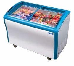 Electric Blue Star Glass Top Freezer Gt500a, Top Open