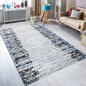 Hand-Knotted Wool Viscose Rugs For Office