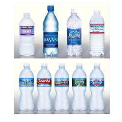 Water Bottle Shrink Label