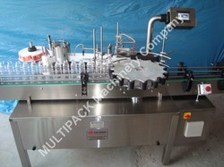 Multipack Automatic Rotary Labeling Machine, Capacity: 150 Bottle Per Minute