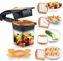 5 in 1 Chopper Nicer Dicer Slicer Vegetable & Fruit Slicer Cutter, Dicer Vegetable & Fruit Slicer