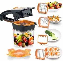 5 in 1 Chopper Nicer Dicer Slicer Vegetable & Fruit Slicer Cutter, Dicer Vegetable & Fruit Slicer