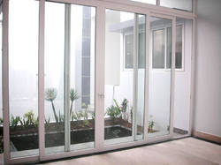 3 Track UPVC Sliding Window