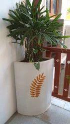 Corner Balcony Cement Pots