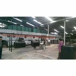 Auto Powder Coating Plant for Automotive Components