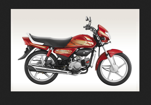Black With Red Hero Hf Deluxe Bike Rs 43900 Piece Jai Rana Motors Id 19679237430