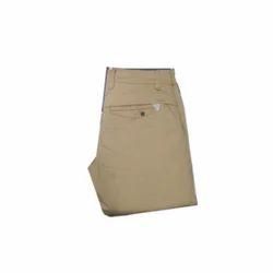 Space Regular Fit Stretchable Cotton Trouser, Waist Size: 28