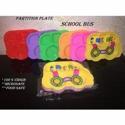 School Bus Plastic Partition Plate