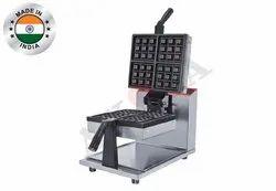 Akasa Indian Square Waffle Machine - Rotary