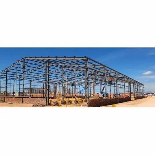 Steel Fabrication Services: Heavy Steel Shed Fabrication Service, Rs 86 /kg Eminent