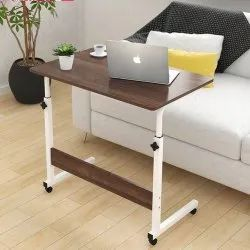 Portable Foldable Height Adjustable Studying Desk Bedside Laptop Table