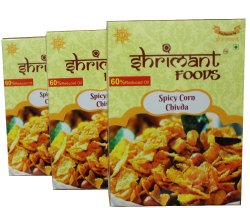 Indian Shrimant Corn Spicy 200 gms, No Preservatives