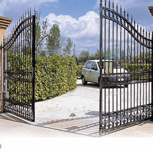 gate htm pdtl supermarket revolving wuxi suyuan bi security doors as si swing direction china