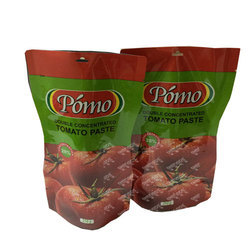 Plastic Paste Packaging Pouches