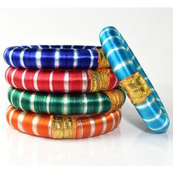 Indian Handcraft Fashion Silk Thread Bangle